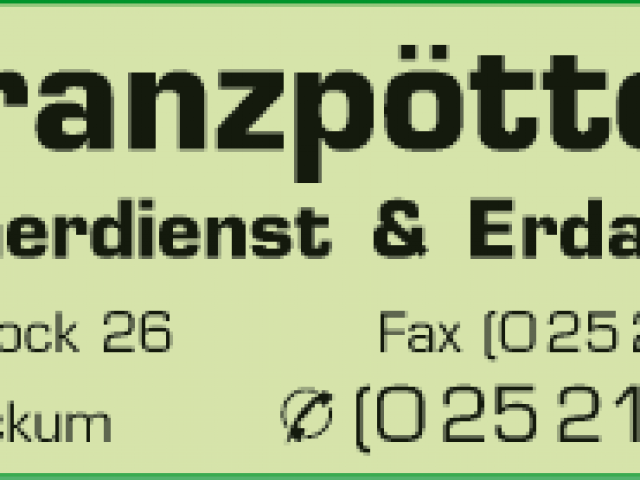 Franzpötter Theo Containerdienst & Erdarbeiten